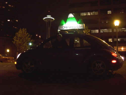 space needle and the smartbeetle
