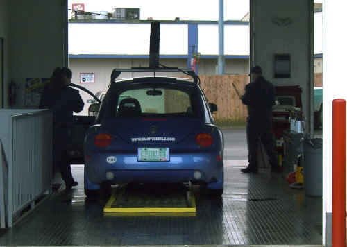 smartbeetle in Jiffy Lube