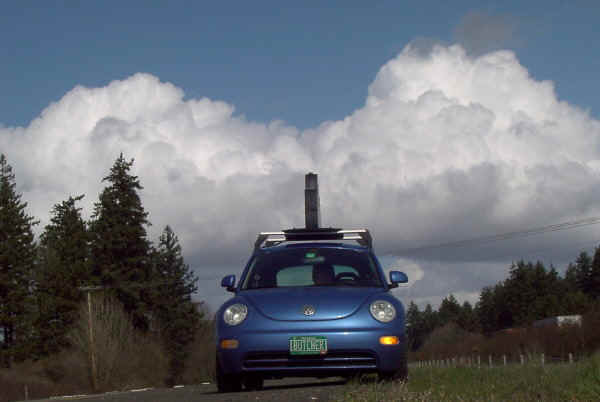 smartbeetle and clouds in oregon