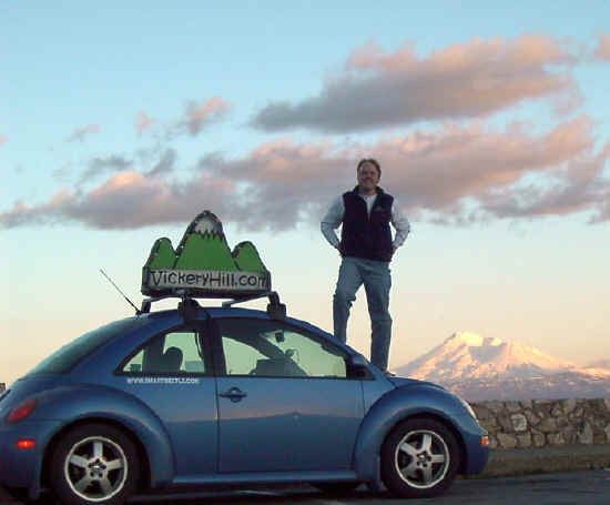 mt shasta, steve butcher and the smartbeetle