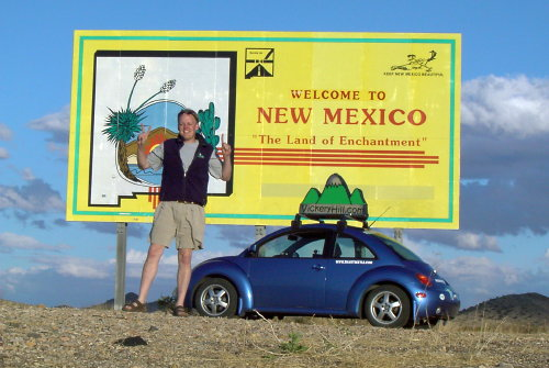 steve butcher and the smartbeetle get to new mexico