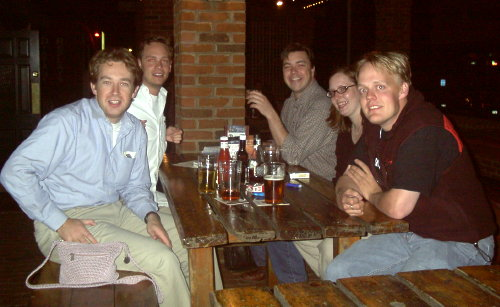 NETC Atlanta Johnny, Rob, Dan, Sara and me