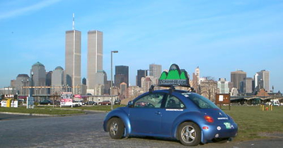 World Trade Center visit by the SmartBeetle